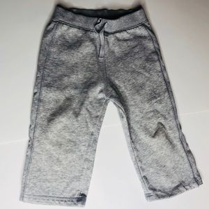 Grey 100% cotton toddler pants size 18 months